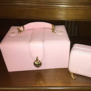 Juicy Couture Pink Multi Function Jewelry Box